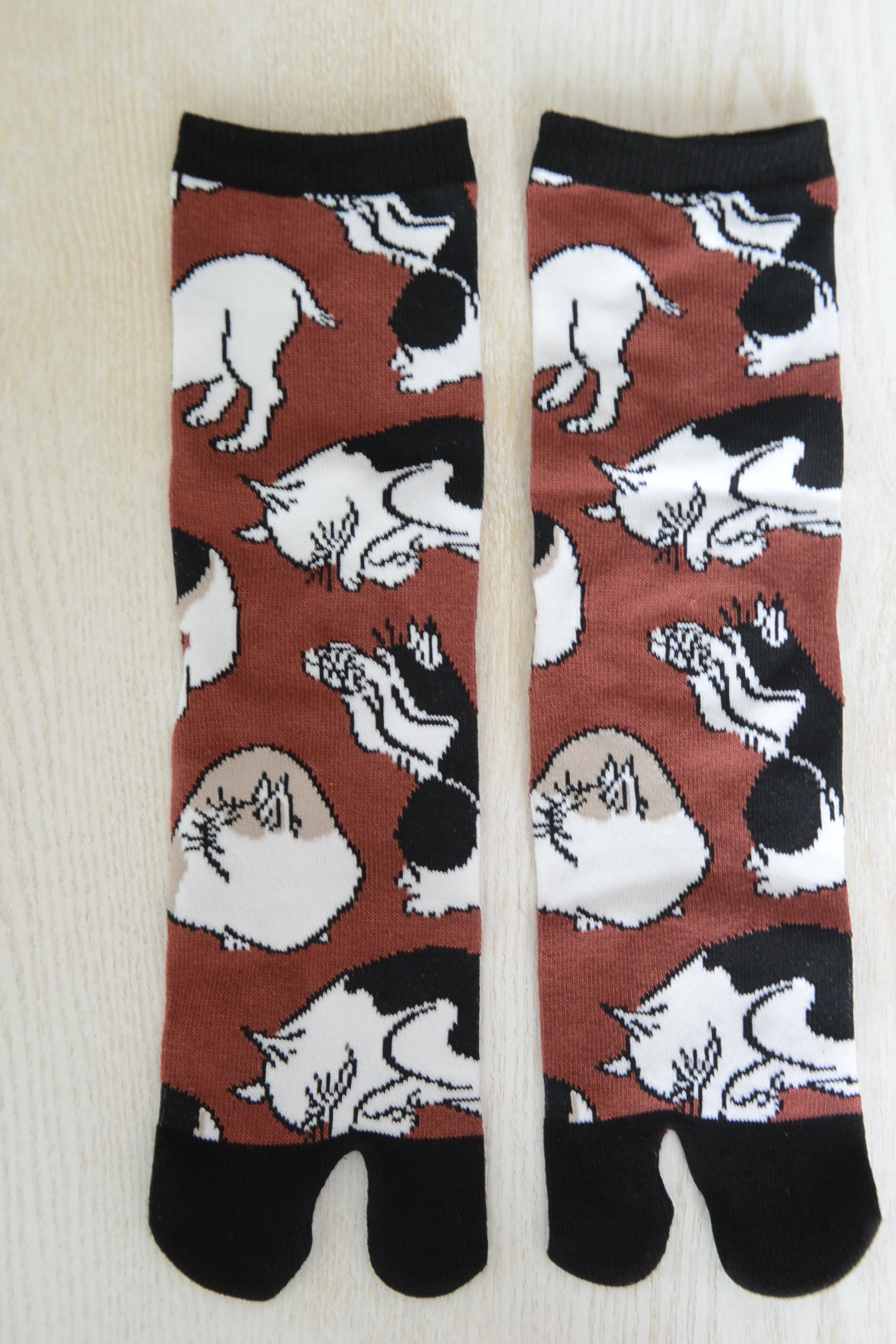 足袋ソックス 浮世絵猫